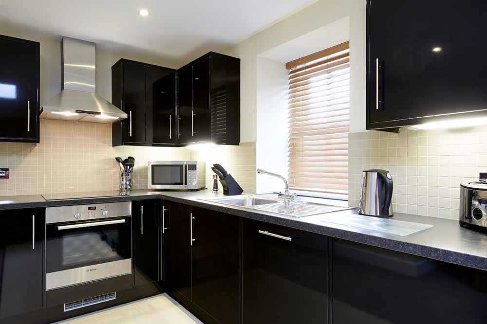 Broad Street Apartments - Kitchen