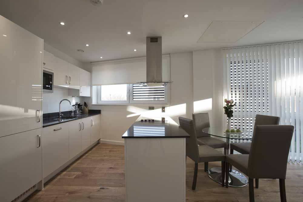 Blackwall Lane Apartments - Kitchen and Dining Area