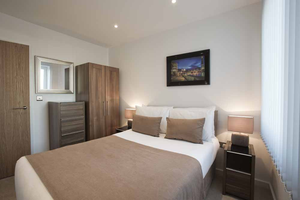 Blackwall Lane Apartments - Bedroom