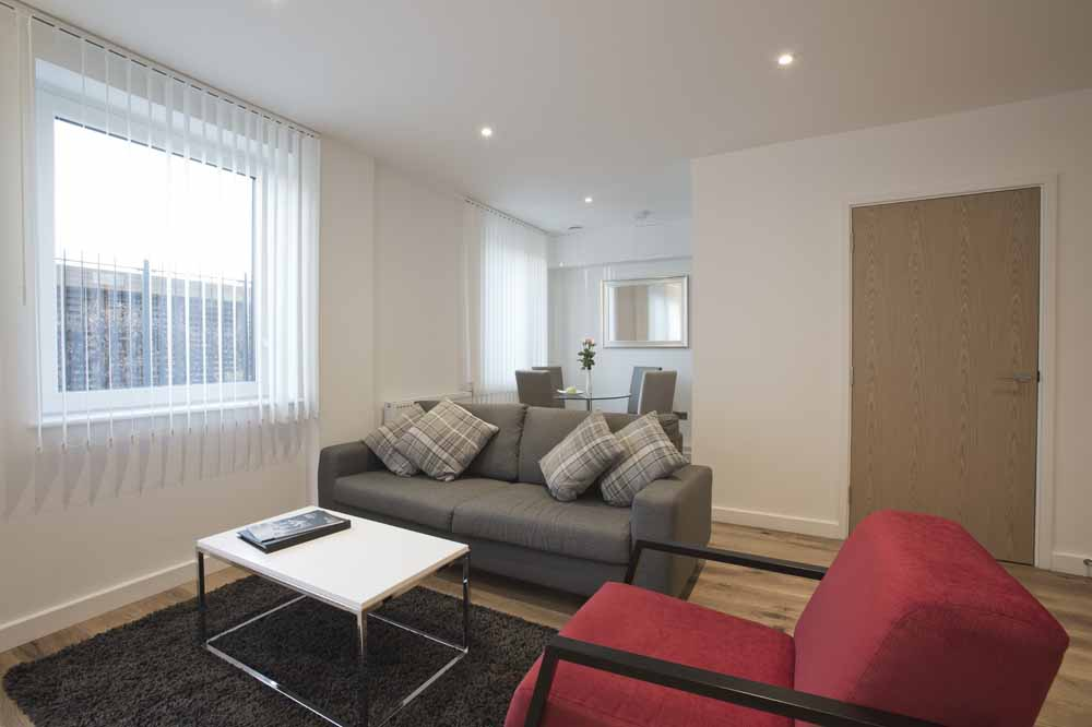 Blackwall Lane Apartments - Living Area