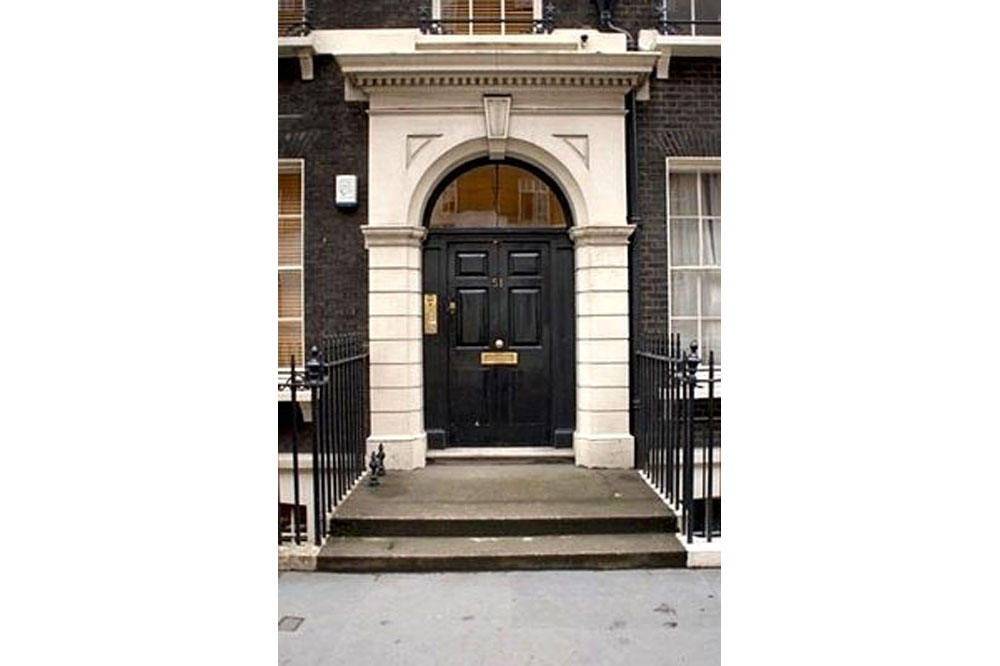 51 Gower Street Apartments - Building Entrance
