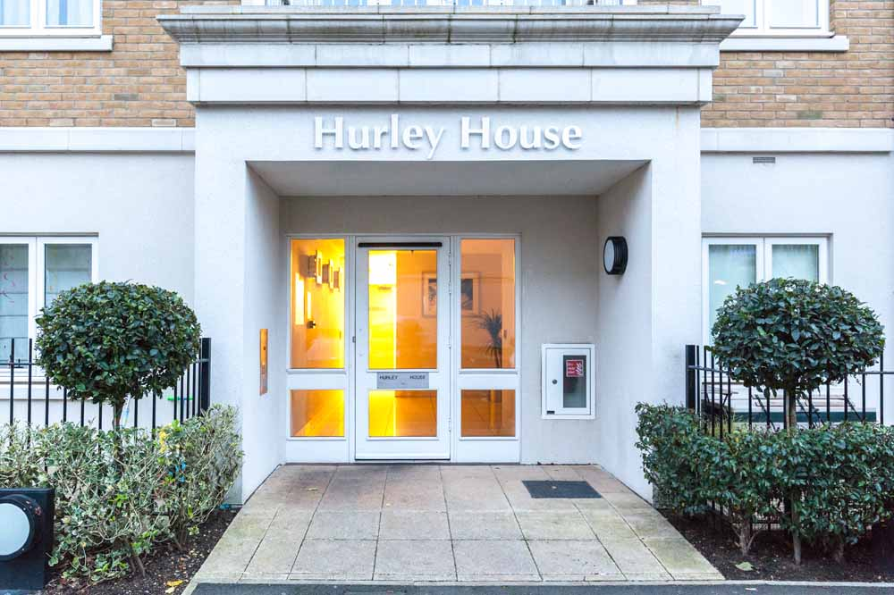 Hurley House Apartments - Building Entrance