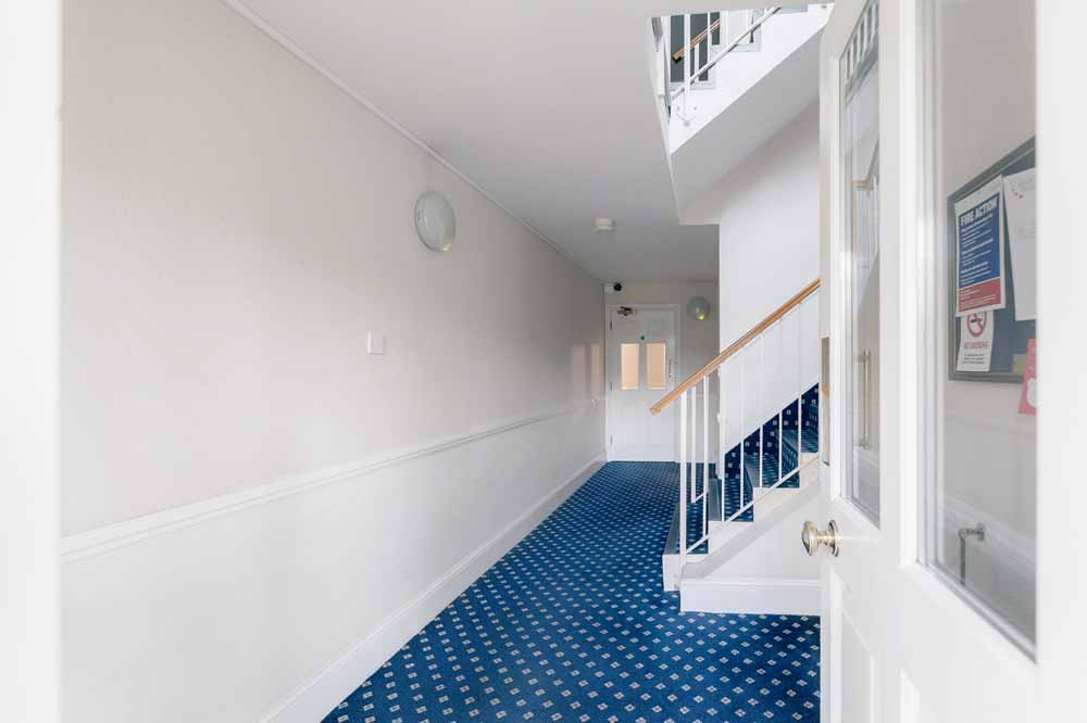 One Bedroom Apartment - Hallway and Staircase