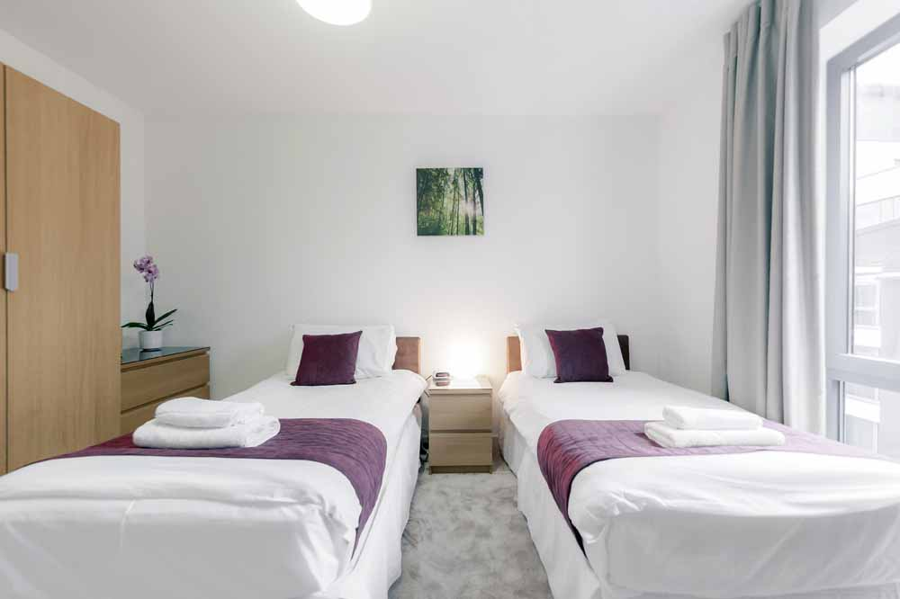The Residence Apartments - Twin Bedroom