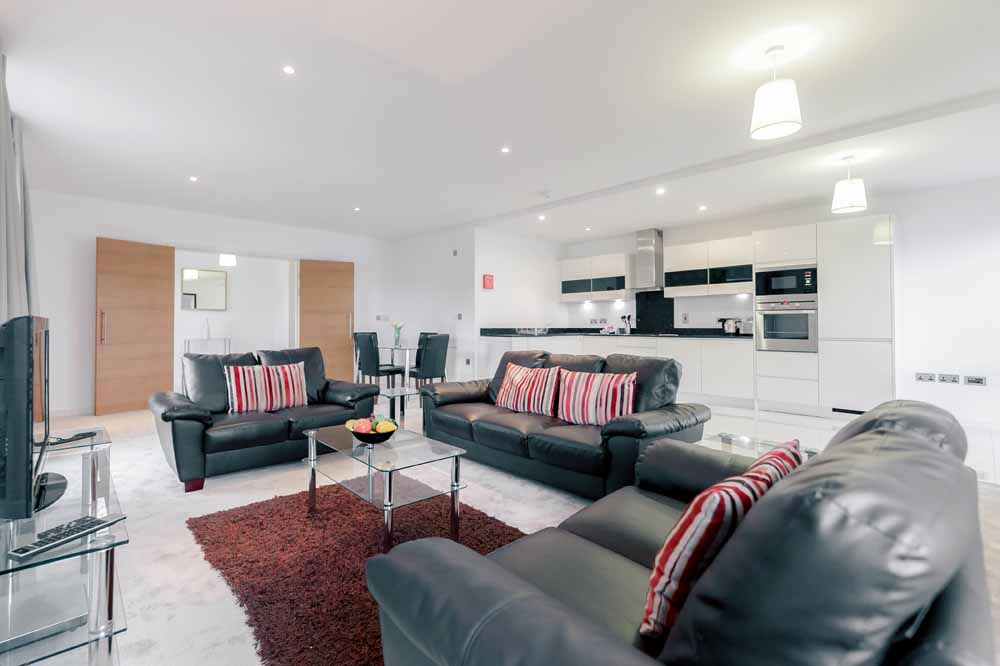 The Residence Apartments - Living Area