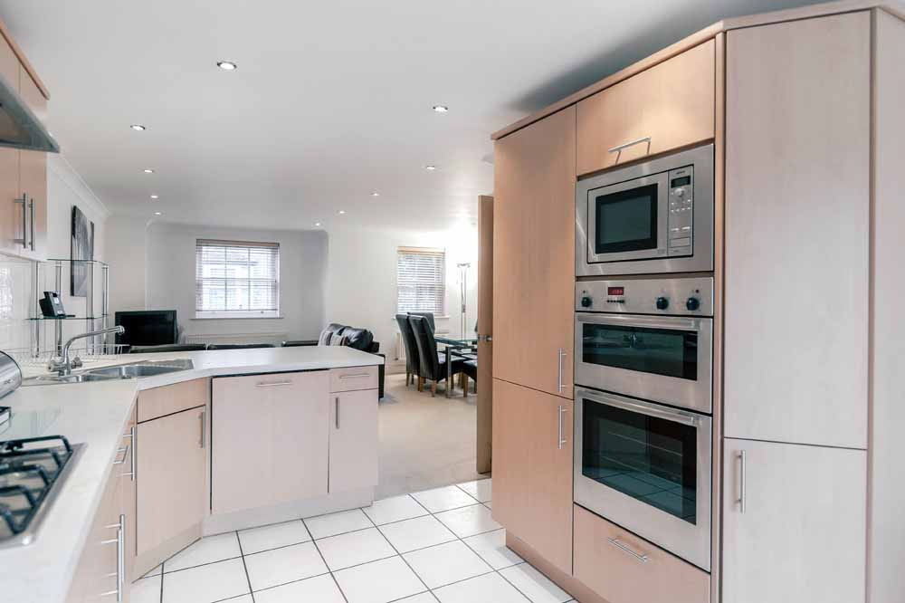 Three Bedroom Apartment - Kitchen