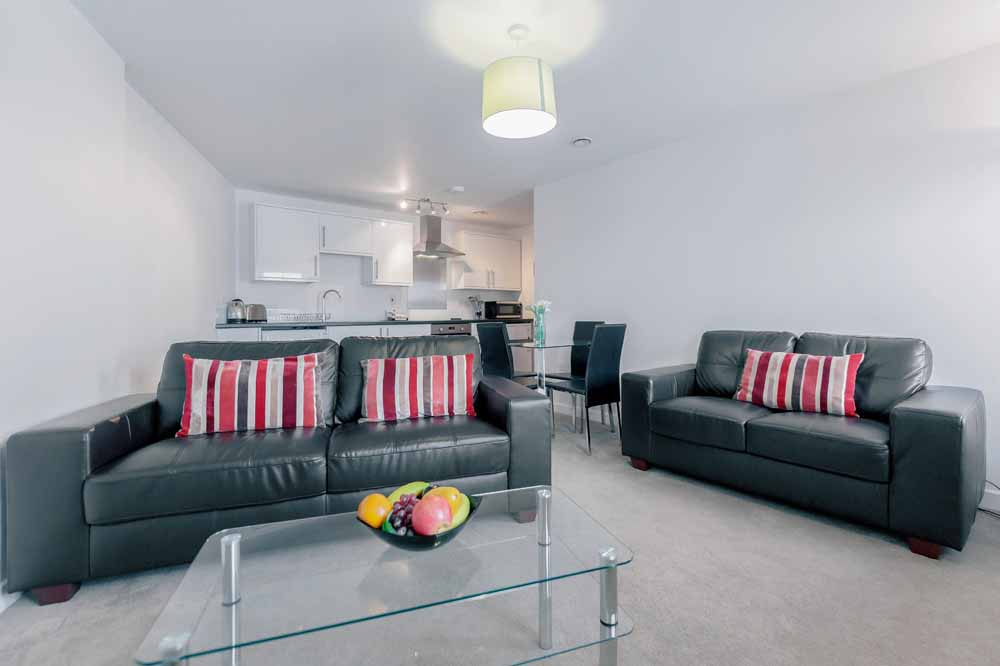 Jubilee Court Apartments - Living Area