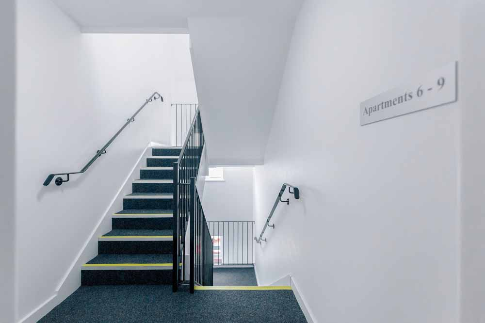 Jubilee Court Apartments - Building Staircase