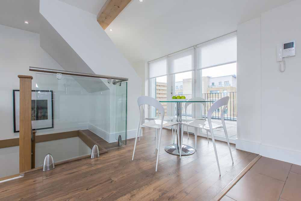 Two Bedroom Duplex Apartment - Dining Area