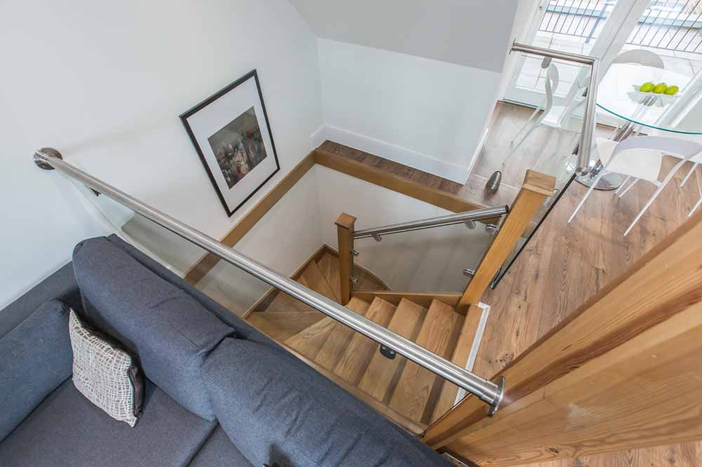 Two Bedroom Duplex Apartment - Staircase