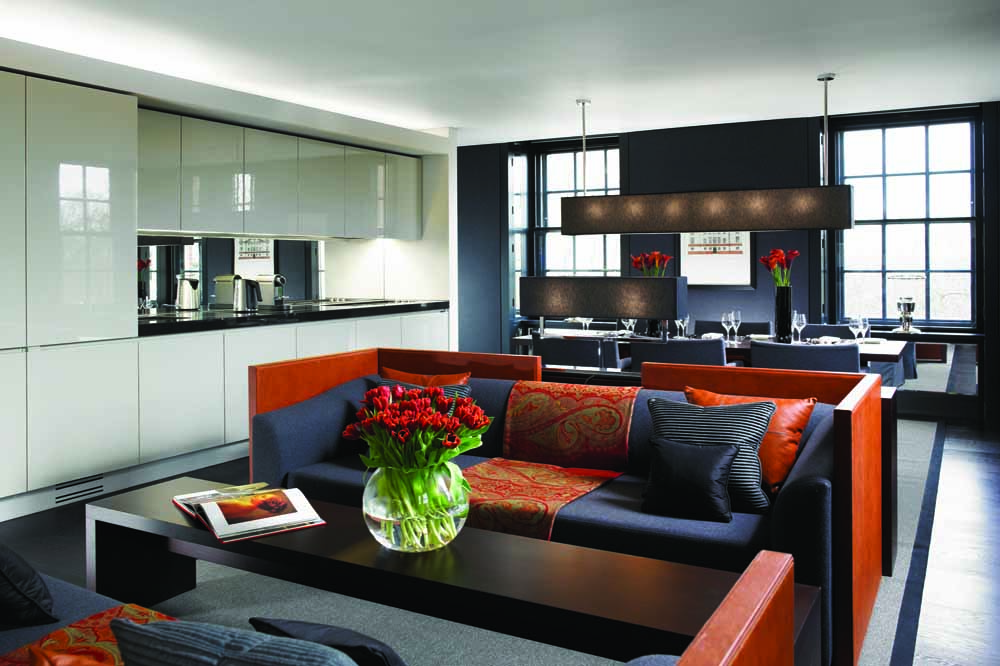 Jumeirah Grosvenor House Apartments - Living Area