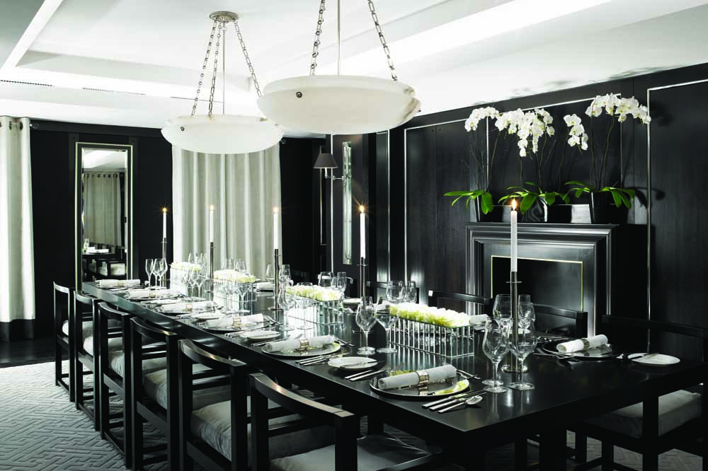Jumeirah Grosvenor House Apartments - Penthouse Dining Area