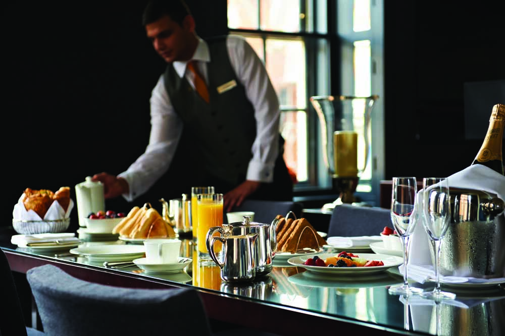 Jumeirah Grosvenor House Apartments - Breakfast Service