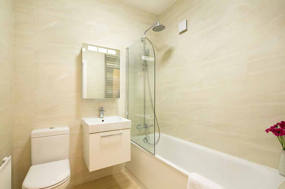 One Bedroom Executive Apartment - Bathroom