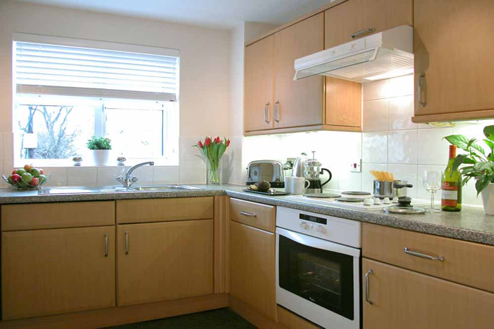 Executive One Bedroom Apartment - Kitchen