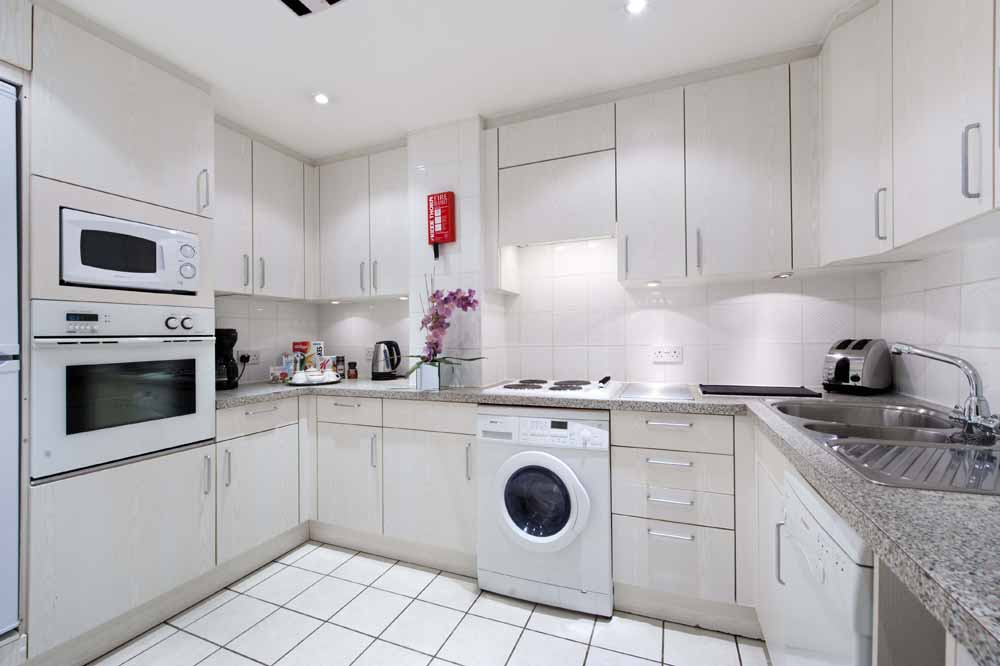 Large One Bedroom Apartment - Kitchen