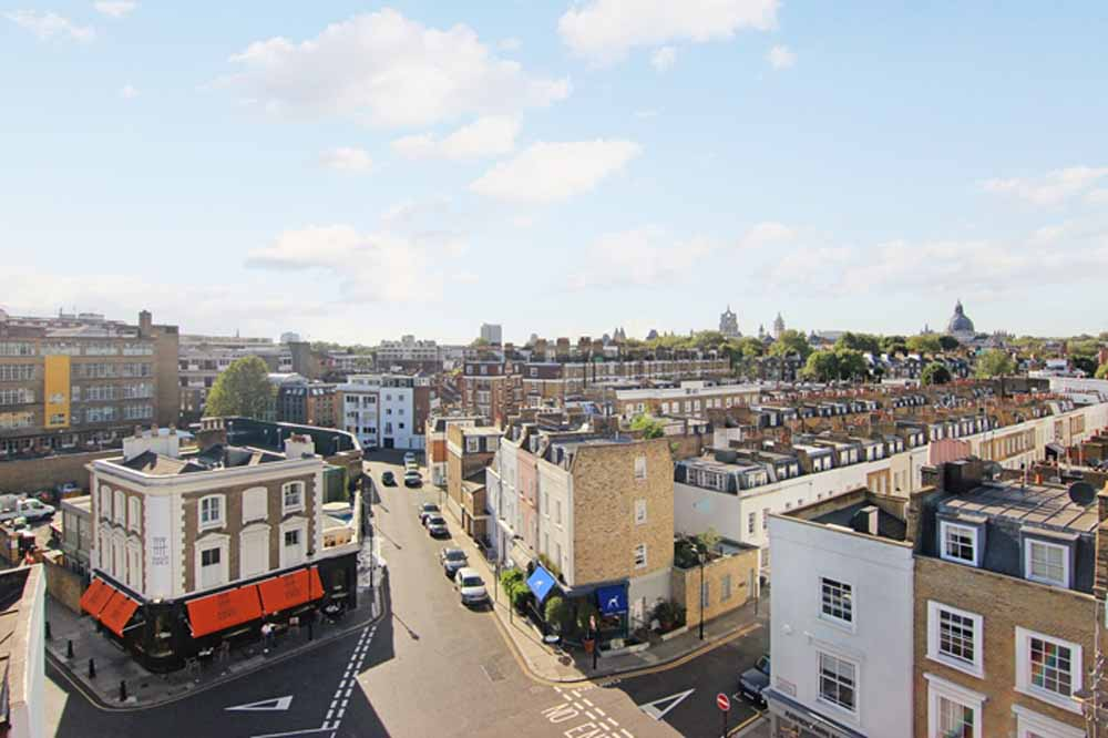 Three Bedroom Penthouse Apartment - Roof Terrace View