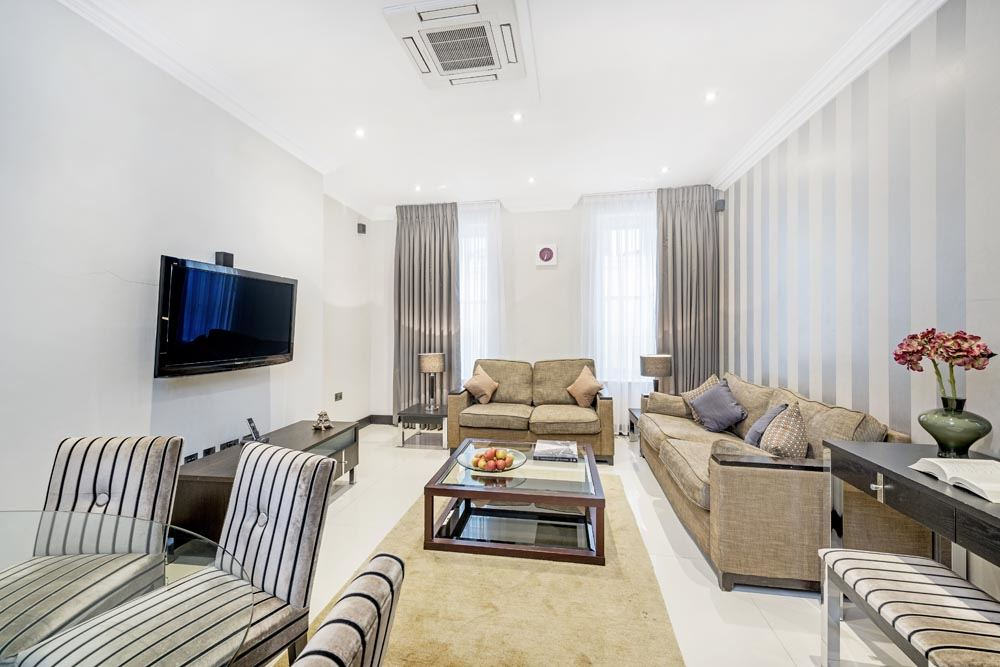 Standard Three Bedroom Apartment - Living Area