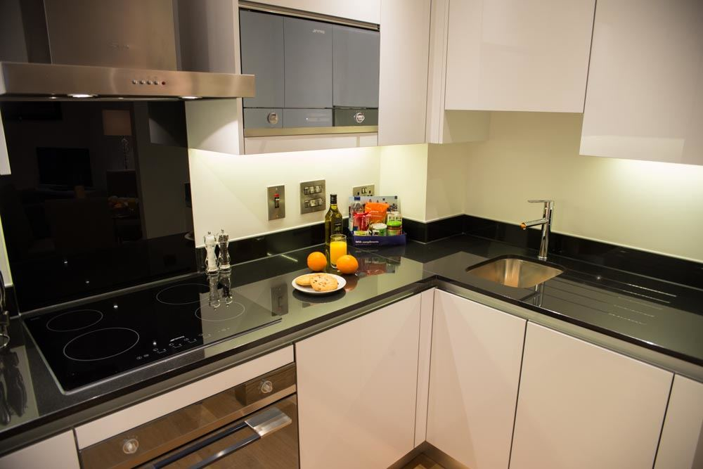 One Bedroom Apartments - Kitchen