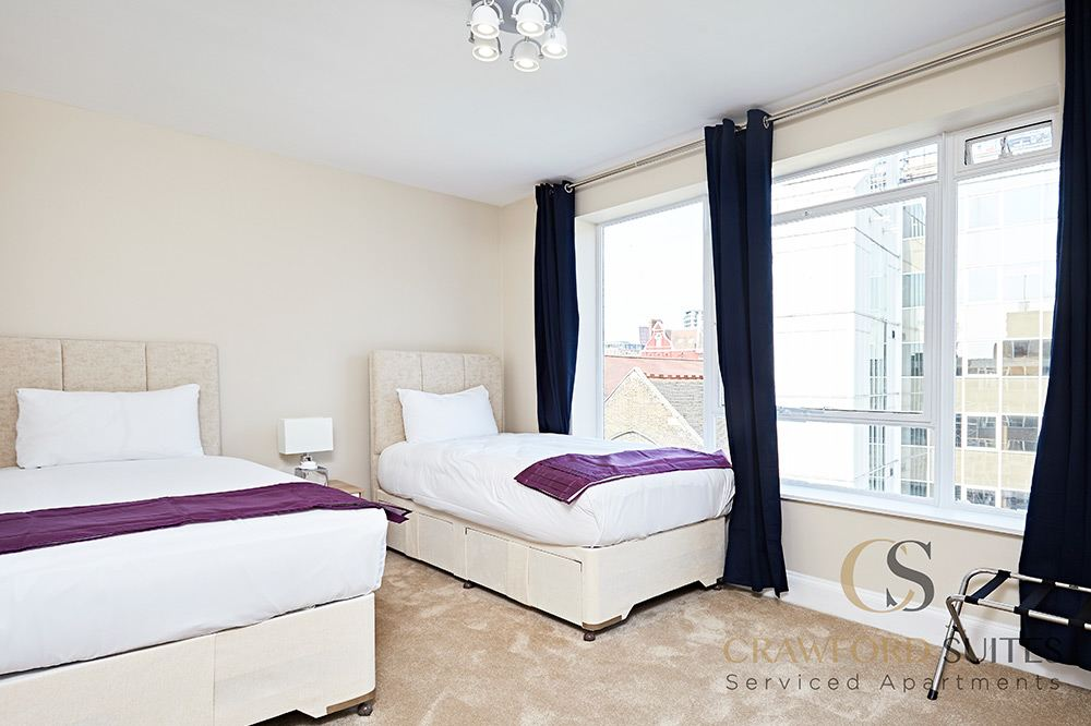 Large Deluxe Two Bedroom Apartment - Super King Beds