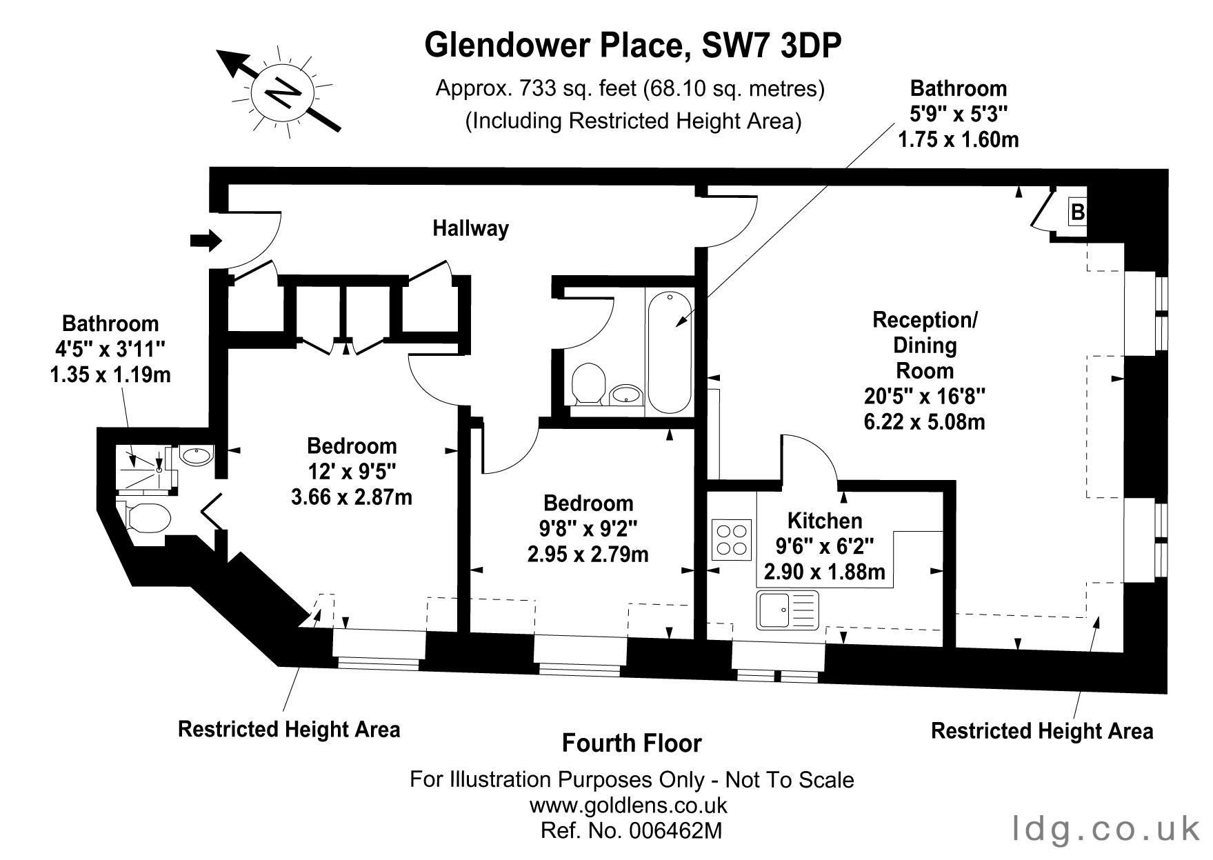 Apartment Four Floor Plan