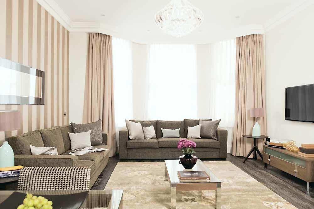 One Bedroom Deluxe Apartment - Living Area