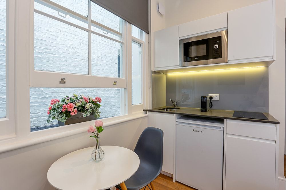 Small Studio Flat 3 Kitchenette