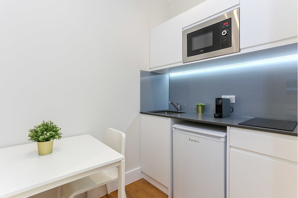Small Studio Flat B Kitchenette