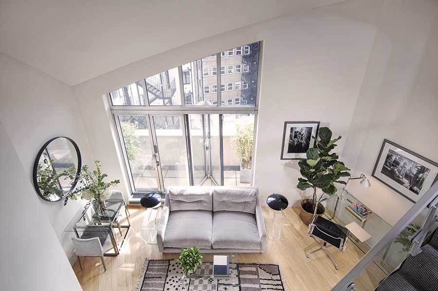 Two Bedroom Mezzanine Loft Apartment